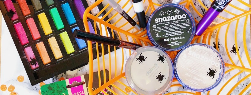 Halloween Makeup, Urban Decay, Elf, Snazaroo, Maybelline, Nyx, Claire's Accessories, Accessorize