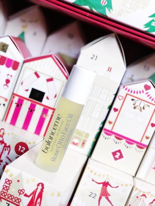 Balanceme Rose Otto Face Oil, M&S beauty advent calendar