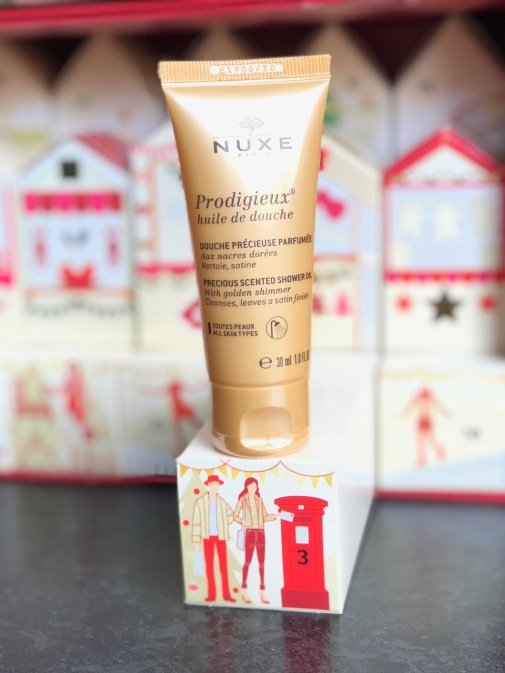 Nuxe Prodigieux Shower Oil, Marks & Spencer Beauty Advent Calendar