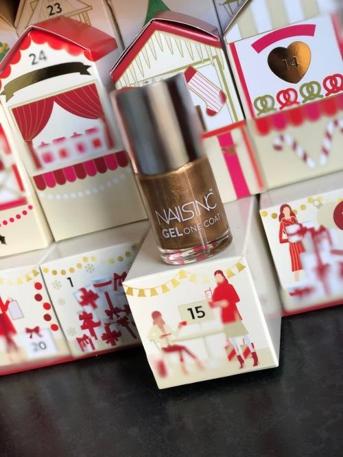 Nails Inc Gel One Coat polish, Marks & Spencer Beauty Advent Calendar