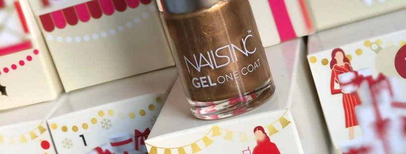 Nails Inc Gel One Coat polish, Marks & Spencer Beauty Advent Calendar