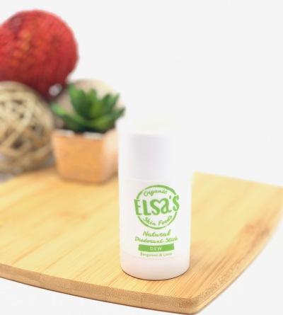 Elsa's Organics - Natural Deodorant stick