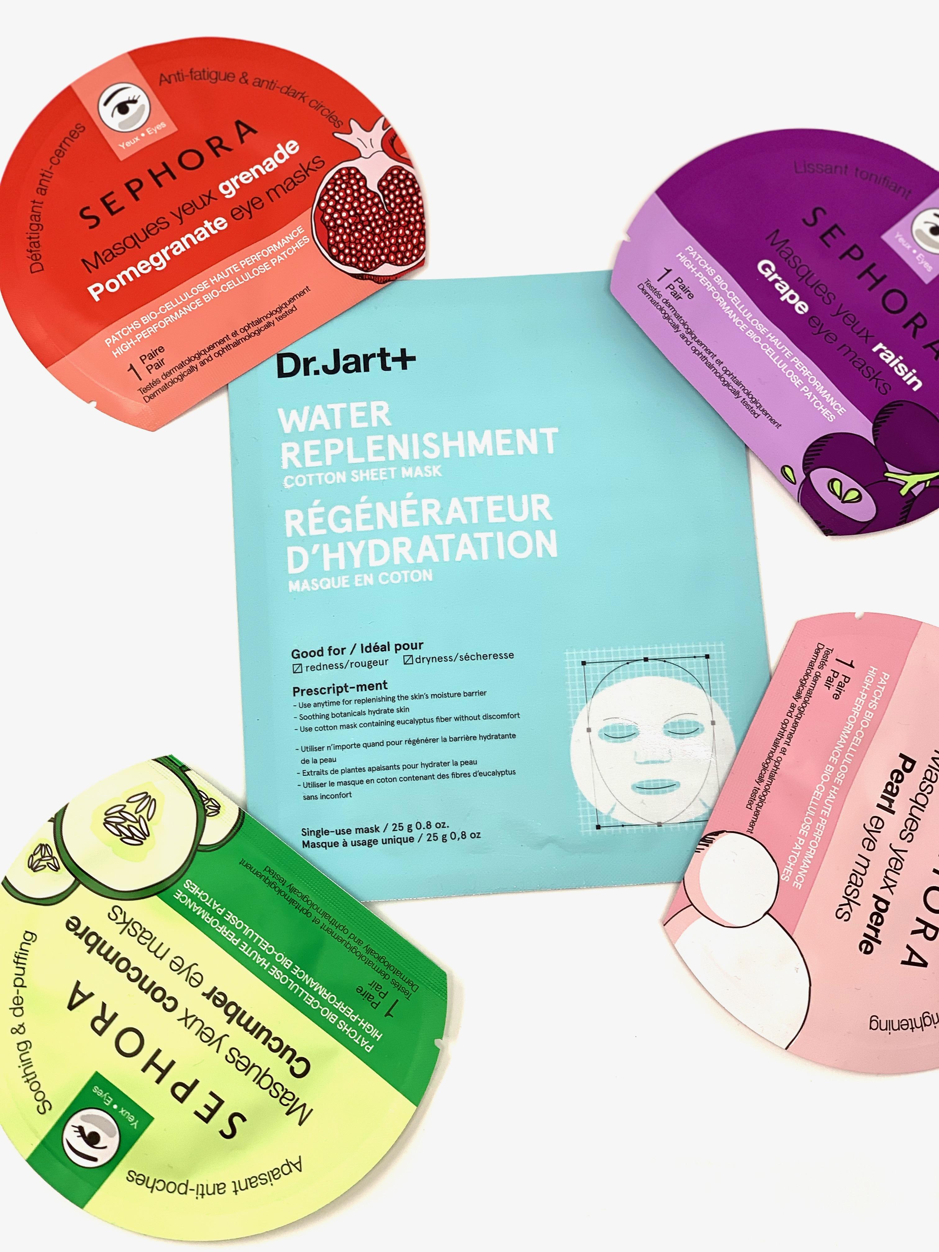 Sephora and Dr Jart Masks