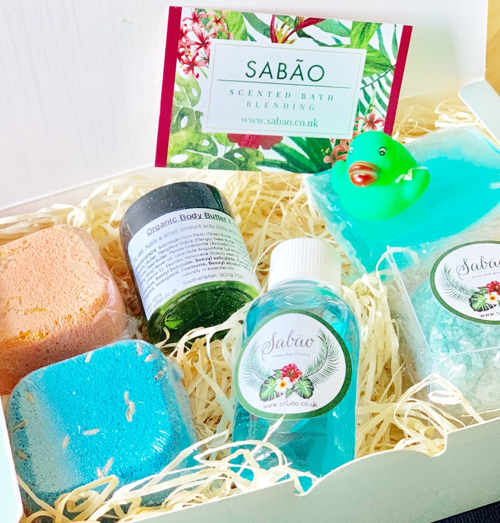 Sabāo Scented Bath Blending