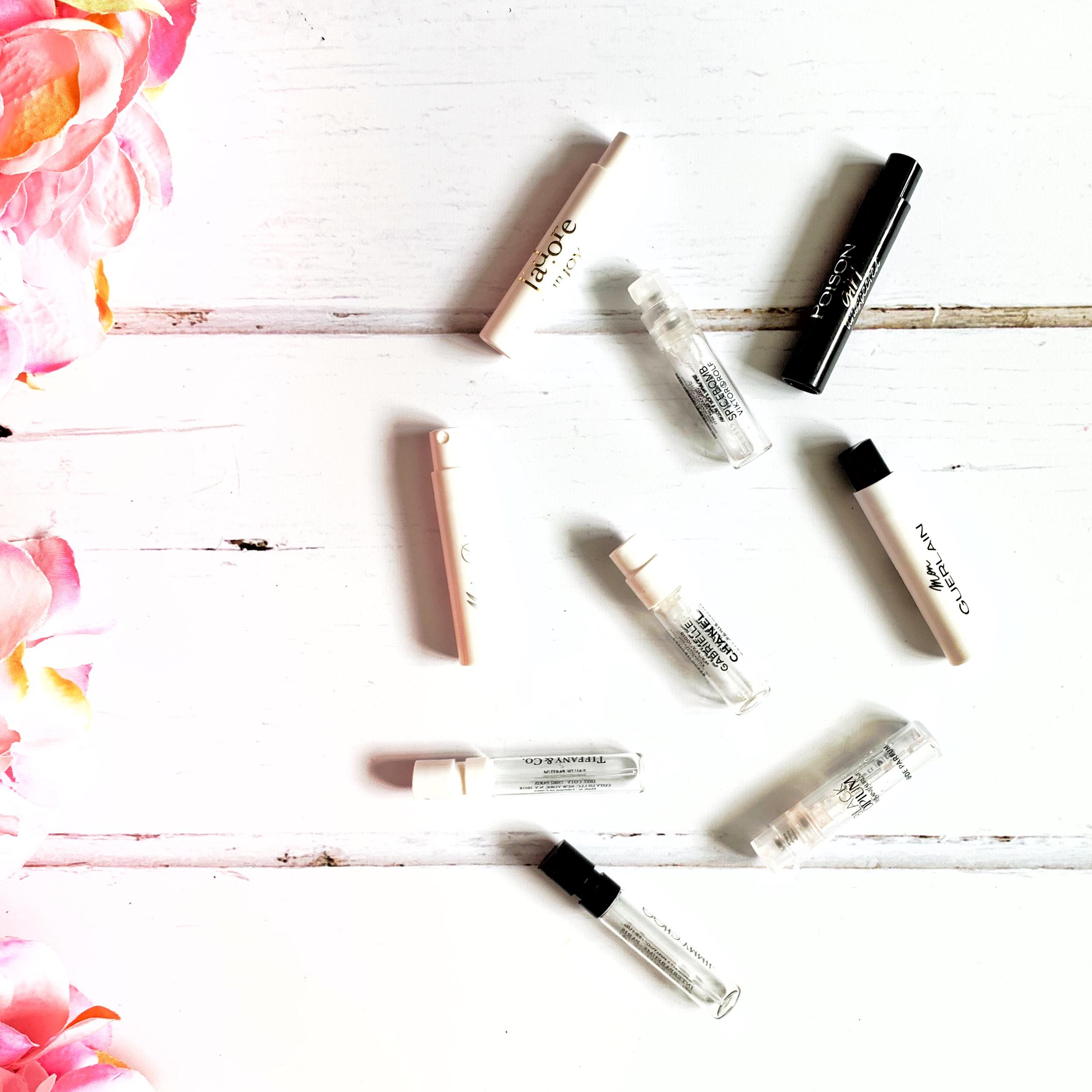 Perfume Sample Selection