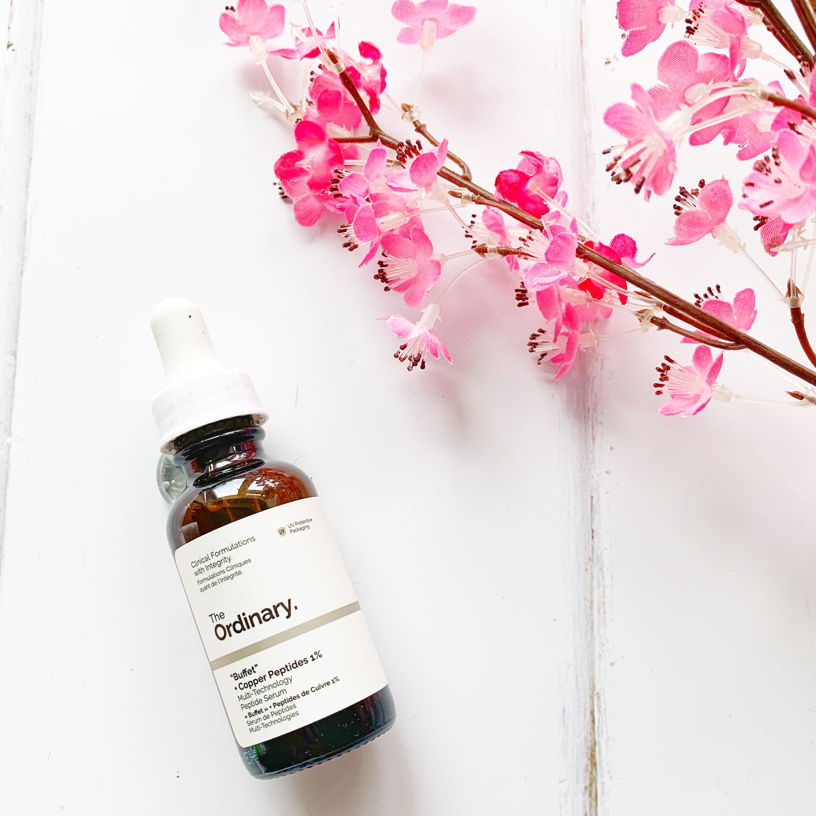 The Ordinary Buffet with Copper Peptides